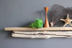 driftwood mantle - Google Search Rustic Mantle, Driftwood, Floating Shelves, New Homes, Google Search, House, Home Decor, Decoration Home, Room Decor