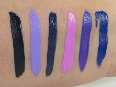 NYX Liquid Suede Cream Lipstick Vault Swatches (Alien, Sway, Foul Mouth, Respect the Pink, Amethyst, Jet-Set)