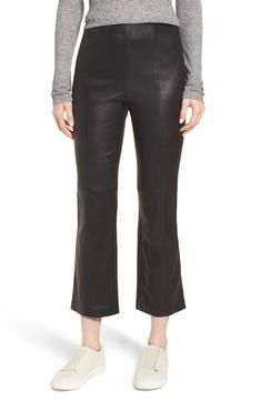 crop leather pants - nordstrom anniversary sale