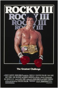 Directed by Sylvester Stallone. With Sylvester Stallone, Talia Shire, Burt Young, Carl Weathers. After winning the ultimate title and being the world champion, Rocky falls into a hole and finds himself picked up by a former enemy. Sylvester Stallone, Rocky Film, Rocky 3, Rocky Series, Cinema Tv, I Love Cinema, 3 Movie, Love Movie, Peliculas Audio Latino Online