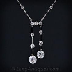 Antique Negligee Diamond Necklace - 90-1-2935 - Lang Antiques