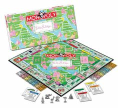 Present Idea: Lilly Pulitzer Monopoly