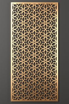 model of a decorative partition for the interior. Decorative Metal Screen, Decorative Wall Panels, Living Room Partition Design, Room Partition Designs, Wall Panel Design, Door Gate Design, Home Window Grill Design, Home Room Design, Jaali Design