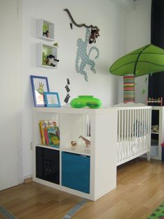 Children's room of sankert Source by Room Ideas Bedroom, Nursery Room, Baby Room, Parents Room, Kids Room, Jungle Room, Ikea Kids, Nursery Design, Baby Boy Nurseries
