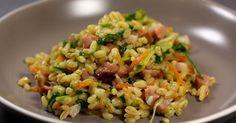 Poêlée de blé aux légumes