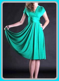 Tailored to Size & Length Bridesmaids dress  with tube top wrap dress Convertible/Infinity Dress