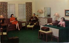 Monte Plaza Motel - Huntsville, Alabama -- Part motel and part home. And where does the daughter sleep?