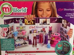MiWorld Style Boutique Deluxe Set (BNIB) New for 2015! Really Rare!! #MiWorld