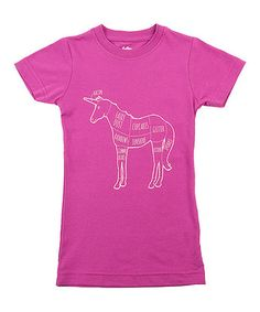Take a look at this Plum Where Happiness Comes From Tee - Girls by Threadless on #zulily today!