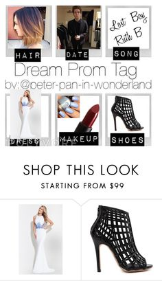 """Dream Prom Tag"" by smokeylovebae ❤ liked on Polyvore featuring Rachel Allan and NARS Cosmetics"