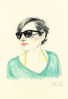 Agata Marszałek (Poland). Portraits.