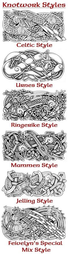 well, didn't really draw any knotwork recently so. celtic/norse mix style again Knotwork Dragon X Viking Art, Viking Symbols, Mayan Symbols, Egyptian Symbols, Viking Runes, Ancient Symbols, Celtic Tattoos, Viking Tattoos, Warrior Tattoos