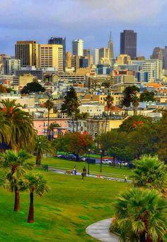 Dolores Park San Francisco California USA