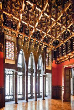 Palau Güell | Barcelona, Spain | Antoni Gaudi
