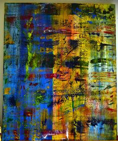 "EVELYN SPATZ ORIGINAL OIL PAINTING ""PRICELESS MOMENTS"" 48""X60"" ONE OF A KIND!!! #Abstract"