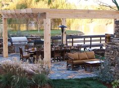Get design ideas for your outdoor kitchen from the DIY Network .