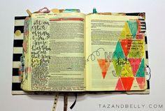 Inside my Journaling Bible