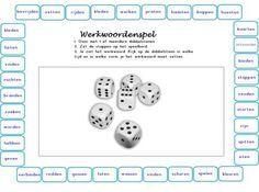 Werkwoord 1015 531 lesmateriaal pinterest taal nederlands en spellen - Werkblad eindigen ...