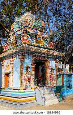 Hindu temple in Kanyakumari, INDIA.