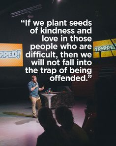 Some good truth from Pastor Will this week at High School service!