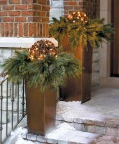Holiday decor that's outside the typical big-box-store thinking.
