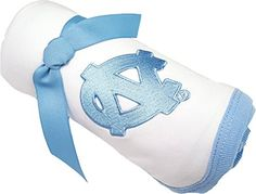 North Carolina UNC Tar Heels Baby Receiving Blanket -- See this great product.Note:It is affiliate link to Amazon. #followhim