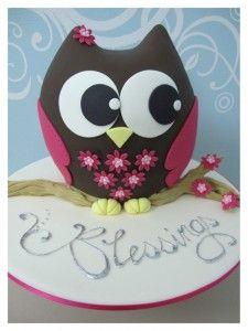 Cake Decorating Class Olivia Owl