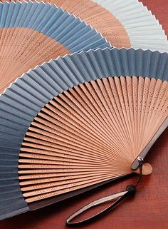 Japanese traditional Kyoto folding fans, Kyo Sensu 京扇子