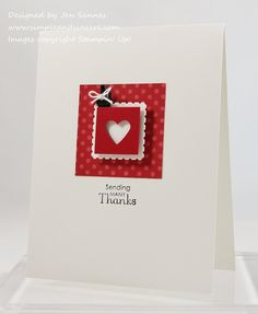 Simple & Sincere: Sending some love your way!