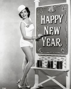 new year vintage pinup hollywood ann miller