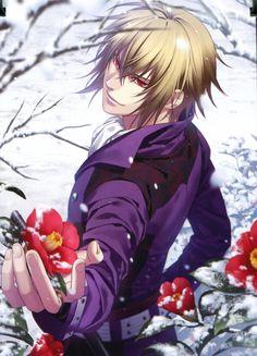 Hakuouki Shinsengumi Kitan, Kazama Chikage, European Clothes, Snowing, Flakes