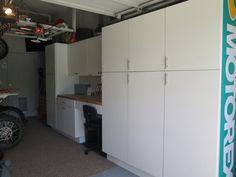 Garage cabinets by Eagle Valley Design
