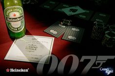 Heineken Beer Advertising Campaign - 007 Casino Royale © David Cantwell Photography 007 Casino Royale, Advertising Photography, Advertising Campaign, David, Beer, Heineken, Ale, Commercial Photography