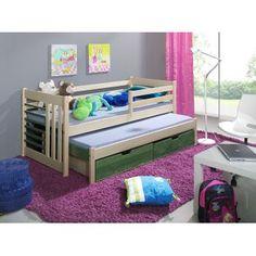 Pat din lemn de pin pentru copii Simon Bed Spreads, Girl Room, Bunk Beds, Toddler Bed, Furniture, Home Decor, Bedrooms, Cocktail, Products