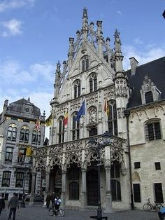 MECHELENThe Main Market Square in Mechelen travel-and-places