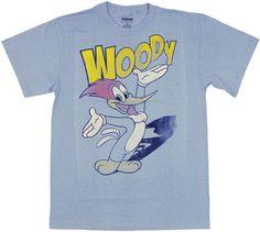 37e2bb63d251 Woody Woodpecker Vintage T Shirt