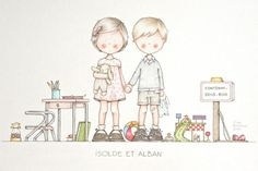 32 dessin illustration Celine Bonnaud – vol 7425 | Image & Revue mode