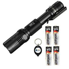 BUNDLE Nitecore EA21 CREE XPG2 R5 LED Flashlight 360 Lumens w 4x Energizer AA MAX Alkaline batteries and Lightjunction Keychain light >>> Check out the image by visiting the link.Note:It is affiliate link to Amazon.