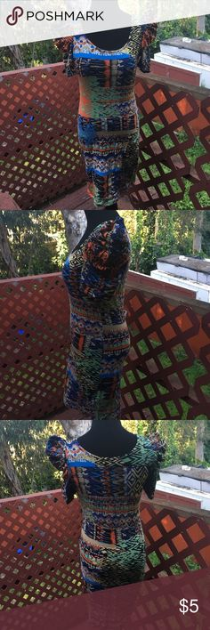 Form fitting graffiti pit patterned dress Form fitting graffiti pit patterned dressThank you for looking. Please remember that NO REASONABLE offer is refused. Happy Poshing ❤️😘🎉😍 Dresses Midi