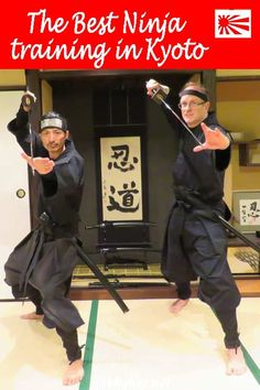 Want to get Ninja skills? This post covers the best place to get Ninja training in Kyoto Tokyo Japan Travel, Kyoto Japan, Okinawa Japan, Slow Travel, Family Travel, Bbq Boys, Japanese Geisha, Japanese Kimono, Ninja Training