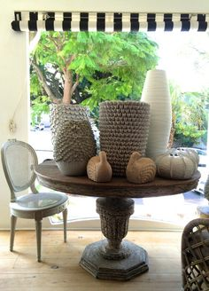 Cecile and Boyd showroom display overlooking Florida rd South African Homes, Table Scapes, Vignettes, Showroom, Wicker, Beach House, Safari, Ethnic, New Homes
