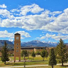 Fort Lewis College overlooks Durango with it's beautiful campus!