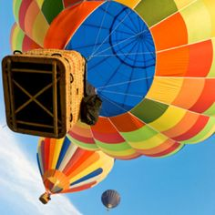 Participated in a Hot AirBalloon Race in 1992. Didn't win but it was amazing!!