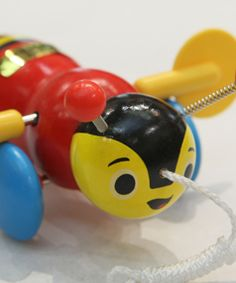 Buzzy Bee - a popular NZ children's toy.
