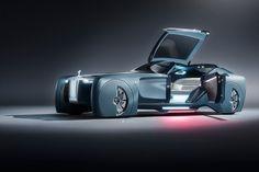 Футуристичный концепт Rolls-Royce Vision Next 100