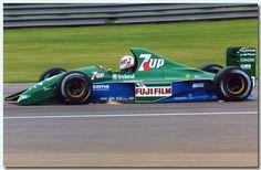 1991 GP Wielkiej Brytanii (Silverstone) Jordan 191 - Ford (Andrea de Cesaris)