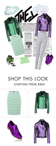 """""""They Make it Work ... """" by teamfreshwest ❤ liked on Polyvore featuring Judy Wu, P.A.R.O.S.H., Maticevski, Boutique Moschino and Kim Kwang"""