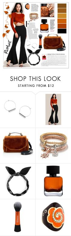 """Romwe.Super Flare Pants"" by natalyapril1976 ❤ liked on Polyvore featuring Maje and Nouvelle Bague"