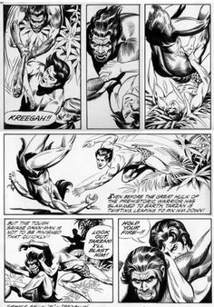 Dave Karlen Original Art Blog: Comic Art Legend: Russ Manning