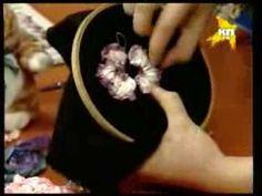 Секреты вышивания шелковыми лентами - YouTube